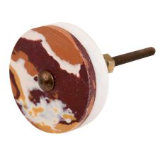 Brown Texture Stone Cabinet knob