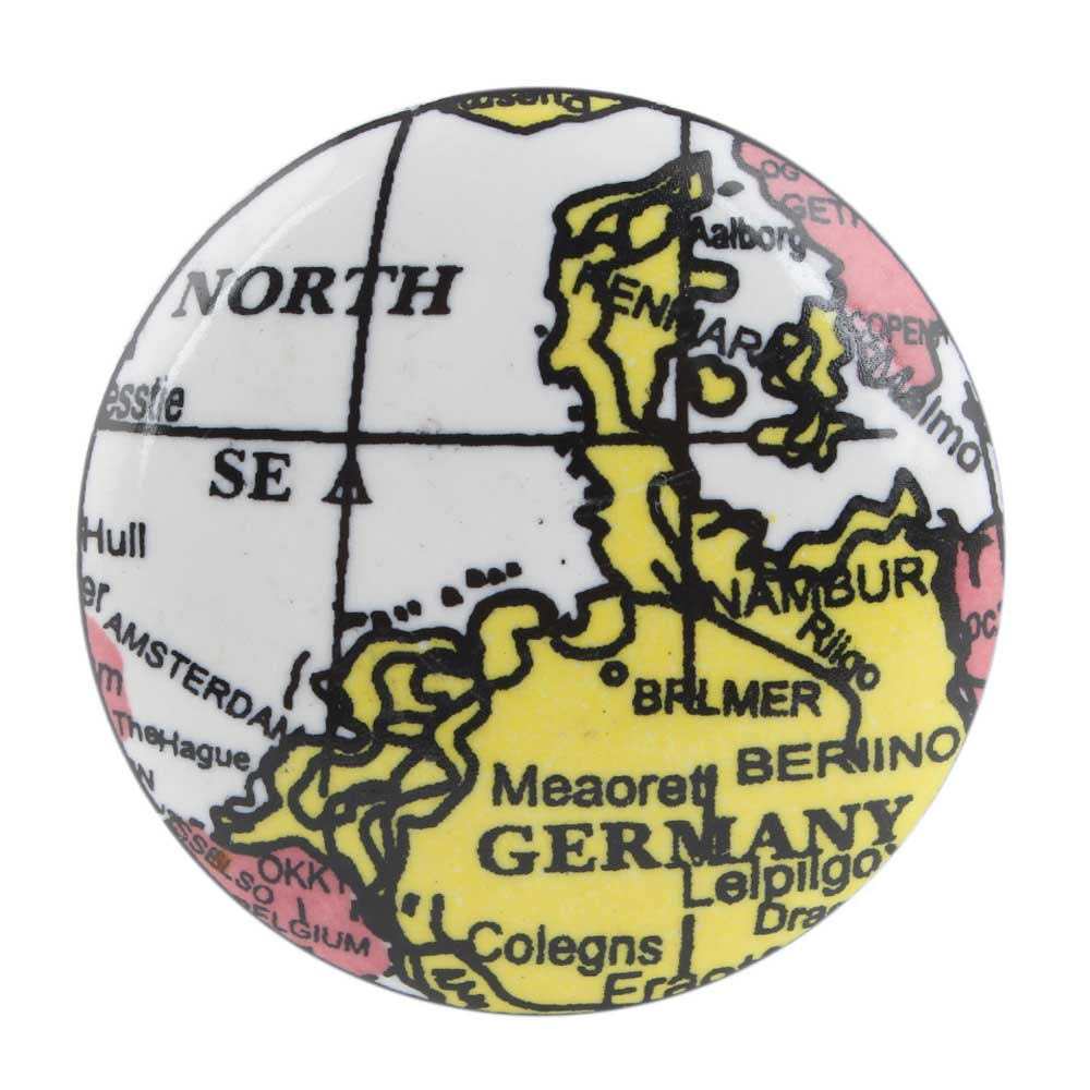 Germany Map Ceramic Wine Bottle Stopper