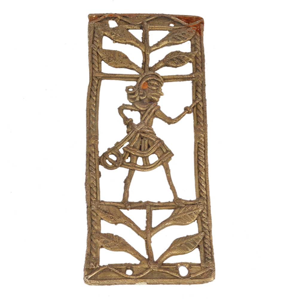 Energizing Home Decor Ideas From Brass Depicting Warrior Female