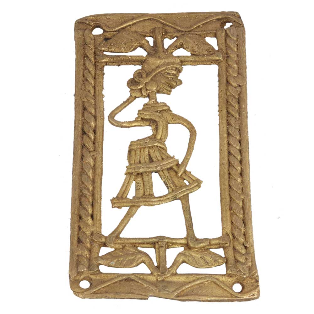 Lovely And Passionate Brass Metal Decor Item