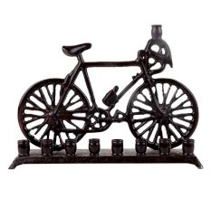 Handmade Antique Brown Brass Toy Cycle
