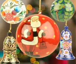 CHRISTMAS ORNAMENTS - INDIANSHELF