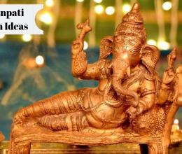 Top 10 Ganpati Decoration Ideas