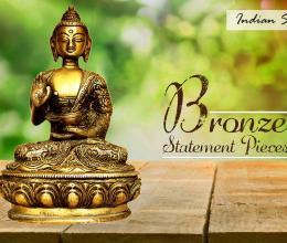Bronze Statement Pieces For Home Decor - Indianshelf.in