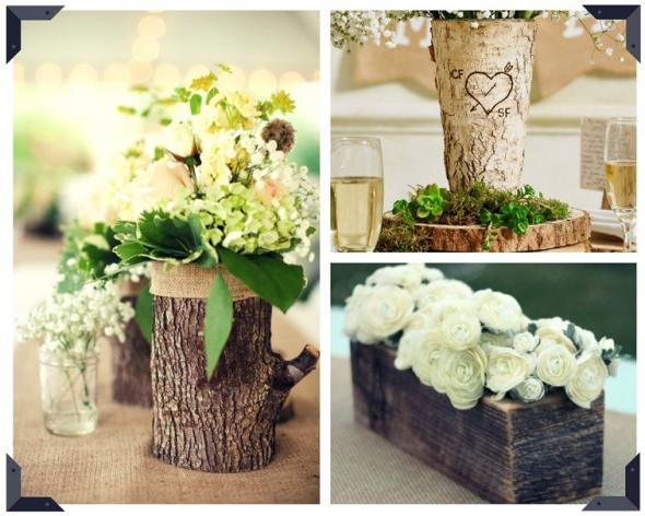 Tree Stump Vase ideas