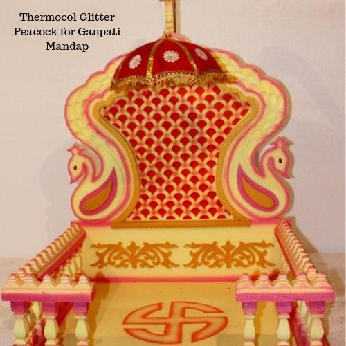 Ganpati Decoration Ideas With Thermocol Ganpati Decoration Ideas 2020 Indianshelf In