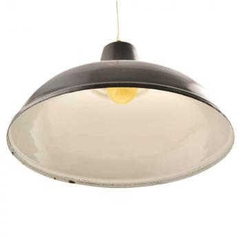 Retro Black Metal Lampshades Ceiling, Black Glass Lamp Shades